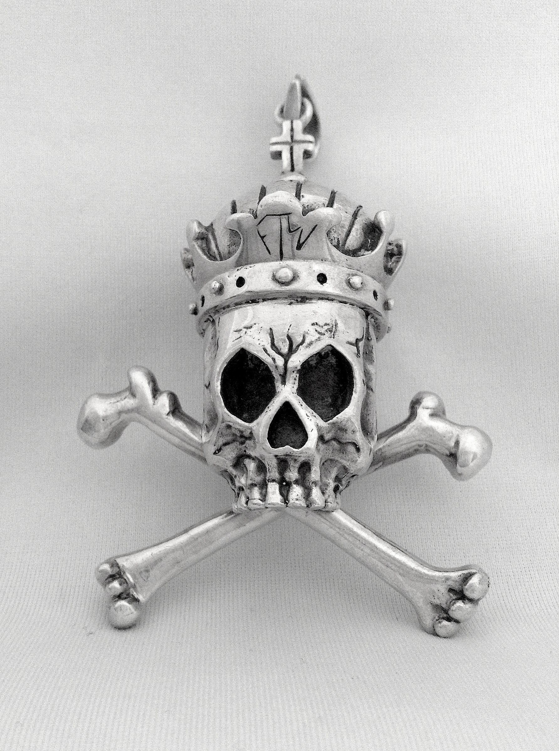 pope pendant skull img jewelry product royal empire
